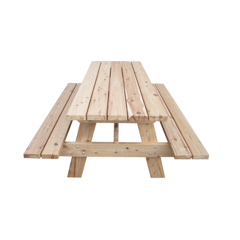 AFrame Timber Picnic Table - Timber picnic table