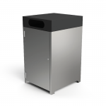 Athens Bin Enclosure - SS Base & Monument Cube Cover