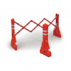 Plastic Folding & Expanding Barriers