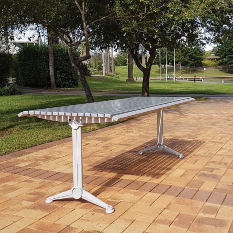London Table - Anodised Aluminium