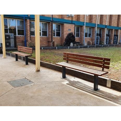 Woodville Seat - Merbau Hardwood