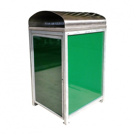 Shown with Gloss side panels and Curved Cover - 2 Sided Access