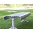 Madrid Bench – Splay Leg - Anodised Aluminium