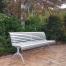 Madrid Seat - Arch Leg - Anodised Aluminium