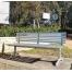 London Seat - Splay Leg - Anodised Aluminium