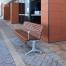 Madrid Seat - Splay Leg - Merbau Hardwood