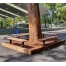 Woodville Bench - Merbau Hardwood