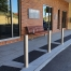 Madrid Seat – Base Plate Leg - Merbau Hardwood