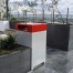 Athens Bin Enclosure - PC Base & Red Cube Cover