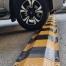 Steel Speed Hump - 3mm Plate (Black & Yellow Modules)
